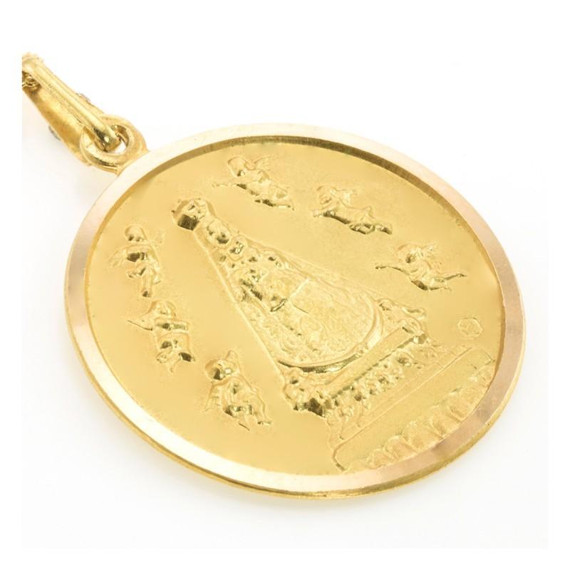 Pulsera oro blanco circonitas