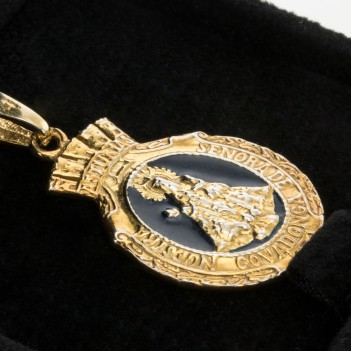 Medalla Plata Virgen Covadonga