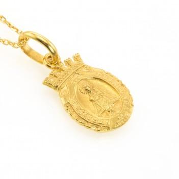 Medalla de Covadonga en Oro Amarillo