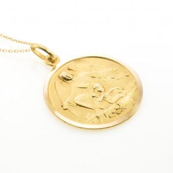 Medalla Angel de la Guarda 4.8 gramos