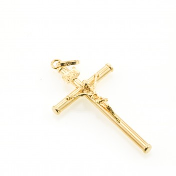 Cruz oro amarillo 18 Kt