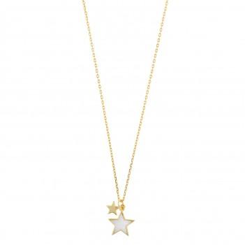 Colgante plata con estrella