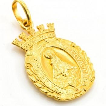 Medalla de Virgen de Covadonga 13.40 gramos