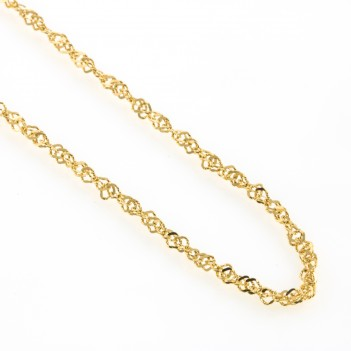 Cadena oro amarillo 2.15 gramos