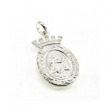 Medalla plata Virgen de Covadonga 4.5 gramos