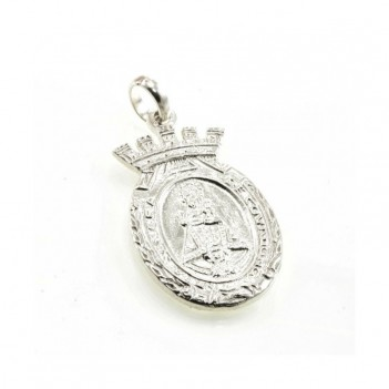 Medalla plata de la Virgen de Covadonga 1 gramo