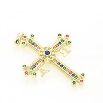 Cruz de la Victoria en plata dorada