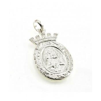 Medalla Plata Virgen de Covadonga Pequeña