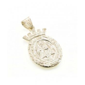 Medalla en Plata Virgen de Covadonga Grande