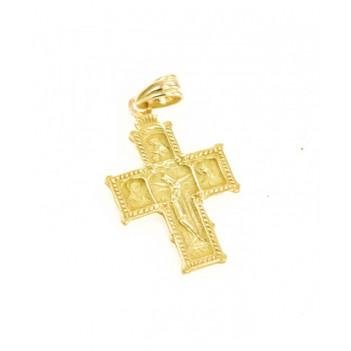 Cruz Románica Oro Amarillo 2.30g