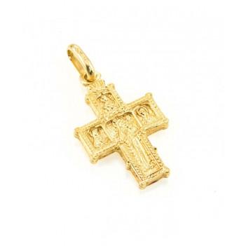 Cruz Románica Oro Amarillo 5.60g